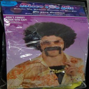 70s DISCO HAIR Kit (5 Pieces) Priced CHEAP